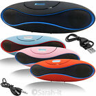 Portable Wireless Bluetooth Rechargeable Speaker For Mobile Phone Laptop DVD MP3