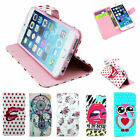 """Several Images Drawings Case Shell Leather Close Magnet For Apple 4,7"""" iPhone 6"""