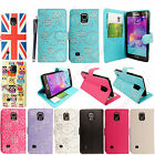 Best Selling Book Leather Case Cover Pouch for Samsung Galaxy Note 4 N910+Stylus