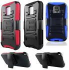 Samsung Galaxy S5 Sport SM-G860 Phone Cover HYBRID Case With HOLSTER BELT CLIP