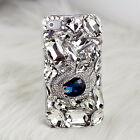 Luxury crystal swan transparent gem skins Case cover for Apple iPhone6 6 plus