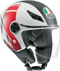 AGV ADULT Blade FX White/Red Motorcycle Helmet S-XL