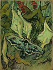 Painting Reproduction Emperor Moth Vincent van Gogh Giclee Art Print on Canvas