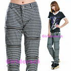 PUNK VISUAL KEI SLIM 71289 PRINTED GRAY PANTS size S-XL