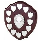 The Multi Sport 12 Year Annual Wooden Shield Award Trophy, Engraved Free