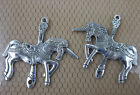 lovely retro style silver unicorn alloy bracelet  necklac charms Connectors