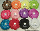 4in Rhinestone Flowers Hair Clip Girls Headband Party Favor Decoration PACK OF 4