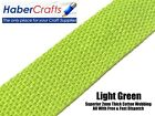 Light Green 25mm Cotton Webbing Tape Belting Fabric Strap Bag Making Strapping