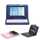 "iRulu 7"" Google Android 4.4 Tablet PC 8GB Quad Core 1024*600 HD Blue w/ Keyboard"