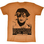 Animal House 1978 Comedy John Belushi Bluto Blutarsky Orange Adult T-Shirt
