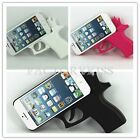Cool Trendy Toy Guns Style Silicone Rubber Case Cover For IPhone 5 5S IDE