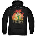 Betty Boop Cartoon Comic Icon Retro Hawaii Hula Boop Adult Pull-Over Hoodie $43.95 USD