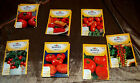 BURPEE TOMATO SEED PACK 7 DIFFERNT VARIETIES 2014