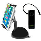 360° Car Dashboard Windshield Mount Holder Stand Bracket+Headset For Cell Phone