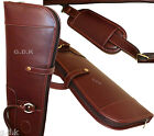 GUARDIAN, LEATHER SHOTGUN SLIP, FULL LENGTH ZIP, LEATHER GUN CASE, 47-51
