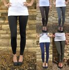 EXTRA LONG Tall Leggings HIGH RISE Viscose SIZE UK 8 10 12 14 16 18 20 22 24