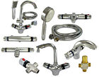 Thermostatic Mixing Valves Automatic Hot/Cold Water Temperature Control Solar