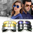 New Aviator Sunglasses Fashion 80s Retro Style Designer UV400 Lens MENS LADIES