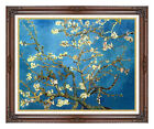 Framed Canvas Art Print Almond Tree in Blossom Blooming Vincent van Gogh Repro