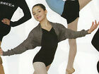 NWT Body Wrappers Ballet Shrug Marble Gray Great Coverup Girls Sizes Skate Dance