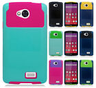 Virgin Mobile LG Tribute LS660 NEST HYBRID HARD Case Rubber Cover + Screen Guard