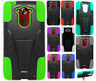 For Motorola Droid Turbo Advanced KICK STAND Rubber Case Phone Cover Accessory