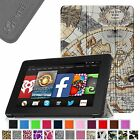 For Amazon Kindle Fire HD 7 4th Gen (2014 Oct Model) Slim Leather Case Cover