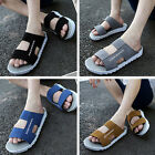 F81 Man's Shoes Cool Outdoor Beach Sport Sandals Casual Korean Style Slippers