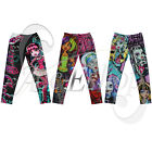 Toddler Girl MONSTER HIGH Pants Kids Leggings Trousers Sz 6-16 Christmas Clothes