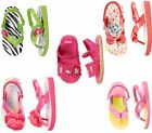 Gymboree Flip Flop Thong Backstrap Touch Close Sandals 02 3/4 5/6 7/8 NWT
