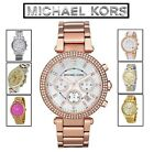 Genuine New Michael Kors Ladies Gents Chronograph Watch Xmas Gift For Him Her