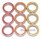 8x12x3.5mm 8x12x3.5 MR1282rs MR128rs ABEC5 Coloured Seal Bearings 1280 RCB