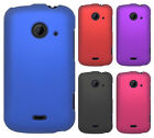 For ZTE Whirl 2 Z667 Rubberized HARD Protector Case Snap Cover + Screen Guard