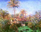 Palm Trees at Bordighera by Claude Monet Canvas Art Prints Painting Reproduction