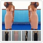 Hotsell Womens V Neck Backless Sling Bra Evening Party Slim Bodycon Dresses - CB
