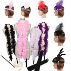 1920s 30s Flapper Girl Moll Fancy Dress Accessories Hen Party Costume Accessory
