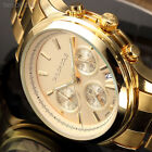 Taylor Cole Muse Luxury Lady Women Gold Stainless Steel Date Quartz Wrist Watch