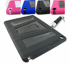FOR APPLE IPAD AIR II 2 RUGGED VAULT IMPACT KICKSTAND CASE COVER +STYLUS/PEN