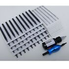 U pick 100 Tattoo disposable needles + 100 black long tips Combos Gift Grip ink