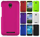Alcatel ONETOUCH Pop Mega LTE Rubberized HARD Protector Case Snap Phone Cover