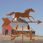 Traditional Running Horse Weathervane -  Farm - Choice of Mount - Antique Look