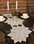Silver Snowflake Table Runner by Heritage Lace, Choice of 4 Sizes, Christmas