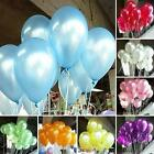 Hot 100pcs 10 inch Colorful Pearl Latex Balloon for Party Wedding Birthday DJNG