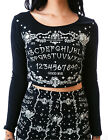 JAWBREAKER OUIJA OCCULT PAGAN CROP TATTOO ILLUMINATI SHIRT GOTHIC GOTH TPA1664