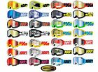 100% Goggles Accuri Motocross Atv Mx Dirt Bike Red Black White Blue Green Yellow