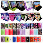 Universal Leather Luxury Stand Case Cover For 7, 8 ,9 ,10.1 Inch Tablet + Stylus