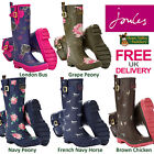Joules Wellyprint Ladies Wellies (S) **BNWT** **FREE UK SHIPPING**