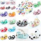 Special Lampwork Murano Glass European Spacer Large Hole Beads Finding Jewelry