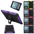 Heavy Duty Shock Dirt Proof Hybrid Silicone Stand Hard Case For iPad Mini 1 2