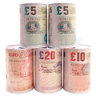 POUND NOTE MONEY COIN JAR £5 £10 £20 £50 NOTES PIGGY BANK JAR TIN SAVING COINS